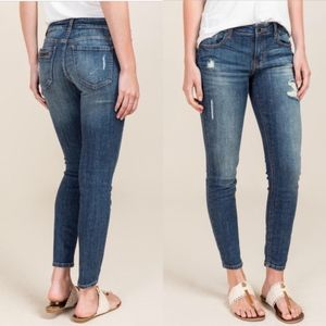 Eunina Ava low rise Ankle Skinny Jeans Size 6 / 28